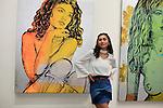 SANTA MONICA - JUN 25: Sydney Schafer at the David Bromley LA Women Art Exhibition opening reception at the Andrew Weiss Gallery on June 25, 2016 in Santa Monica, California