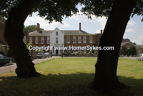 Old Palace Yard, Richmond on Thames, Surrey. Private Housing  in Crown Estate.