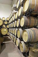 barrel cellar Bodega Agribergidum, DO Bierzo, Pieros-Cacabelos spain castile and leon