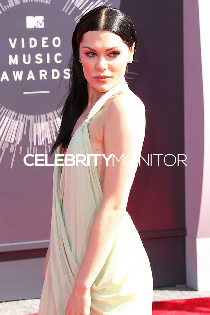LOS ANGELES, CA, USA - AUGUST 24: Jessie J arrives at the 2014 MTV Video Music Awards held at The Forum on August 24, 2014 in the Los Angeles, California, United States. (Photo by Xavier Collin/Celebrity Monitor)