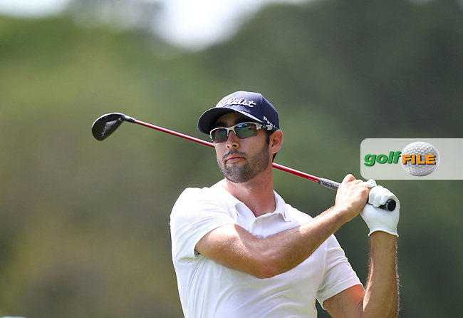 Cameron Tringale of USA drives his tee shot from the 2nd tee during the 3rd round of the Valspar Championship, Innisbrook Resort (Copperhead), Palm Harbor, Florida, USA<br /> Picture: Peter Mulhy / Golffile