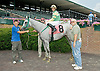 Silverest winning at Delaware Park on 7/23/12