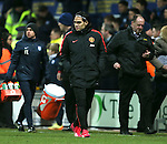 Radamel Falcao of Manchester United walks off at the end of the game having been taken off during the second half - FA Cup Fifth Round - Preston North End  vs Manchester Utd  - Deepdale Stadium - Preston - England - 16th February 2015 - Picture Simon Bellis/Sportimage
