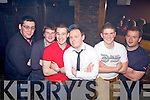 Enjoying his 21st was Noel Dillon Daly(centre) from Abbeyfeale, pictured here with friends John O'Kelly, Jamesie Brown, Kevin O'Rourke, Craig Smith and Colm O'Sullivan