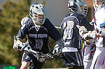 Los Angeles, CA 03/12/16 - Andrew Petersen (Utah State #21) in action during the Utah State vs Loyola Marymount MCLA Men's Division I game at Leavey Field at LMU.  Utah State defeated LMU 17-4.