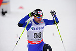HOLMENKOLLEN, OSLO, NORWAY - March 16: Jiri Magal of Czech Republic (CZE) after the Men 50 km mass start, free technique, at the FIS Cross Country World Cup on March 16, 2013 in Oslo, Norway. (Photo by Dirk Markgraf)