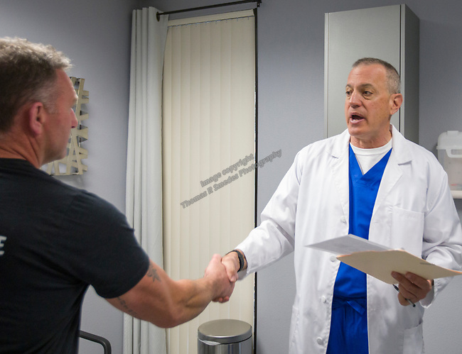 Dr.Pappas and Vein Nevada in Reno on Thursday, May 2, 2019.