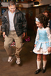 Dr Fred Medina gets an dancing lesson from members of the Campbell Dance Academy in McPhails....Photo NEWSFILE/Jenny Matthews.(Photo credit should read Jenny Matthews/NEWSFILE)....This Picture has been sent you under the condtions enclosed by:.Newsfile Ltd..The Studio,.Millmount Abbey,.Drogheda,.Co Meath..Ireland..Tel: +353(0)41-9871240.Fax: +353(0)41-9871260.GSM: +353(0)86-2500958.email: pictures@newsfile.ie.www.newsfile.ie.FTP: 193.120.102.198.