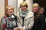 Dympna Healy, Ruth Smith and Suzie McCulloch at the Male Voice Choir in St.Peters Church of Ireland...(Photo credit should read Jenny Matthews www.newsfile.ie)....This Picture has been sent you under the conditions enclosed by:.Newsfile Ltd..The Studio,.Millmount Abbey,.Drogheda,.Co Meath..Ireland..Tel: +353(0)41-9871240.Fax: +353(0)41-9871260.GSM: +353(0)86-2500958.email: pictures@newsfile.ie.www.newsfile.ie.