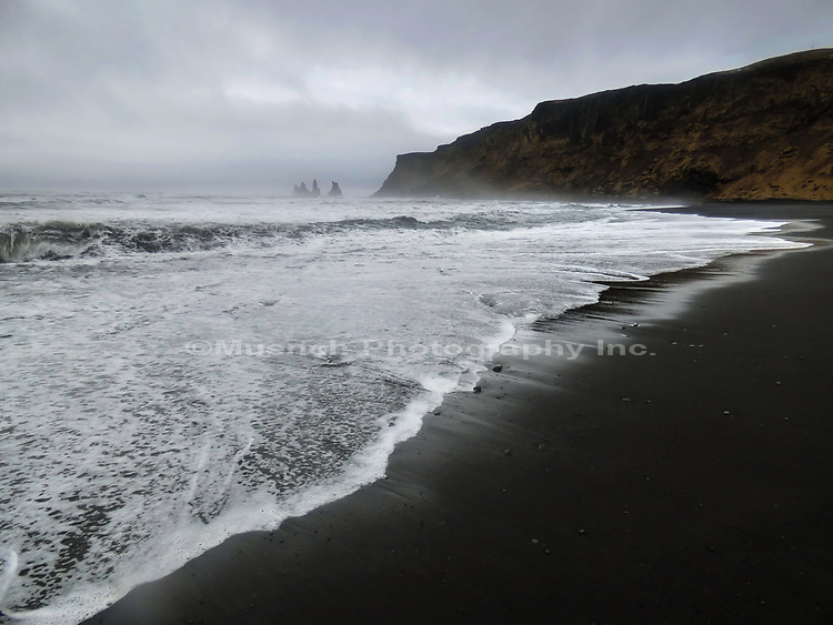 Reynisdranger Seastacks,Vik Village,Iceland