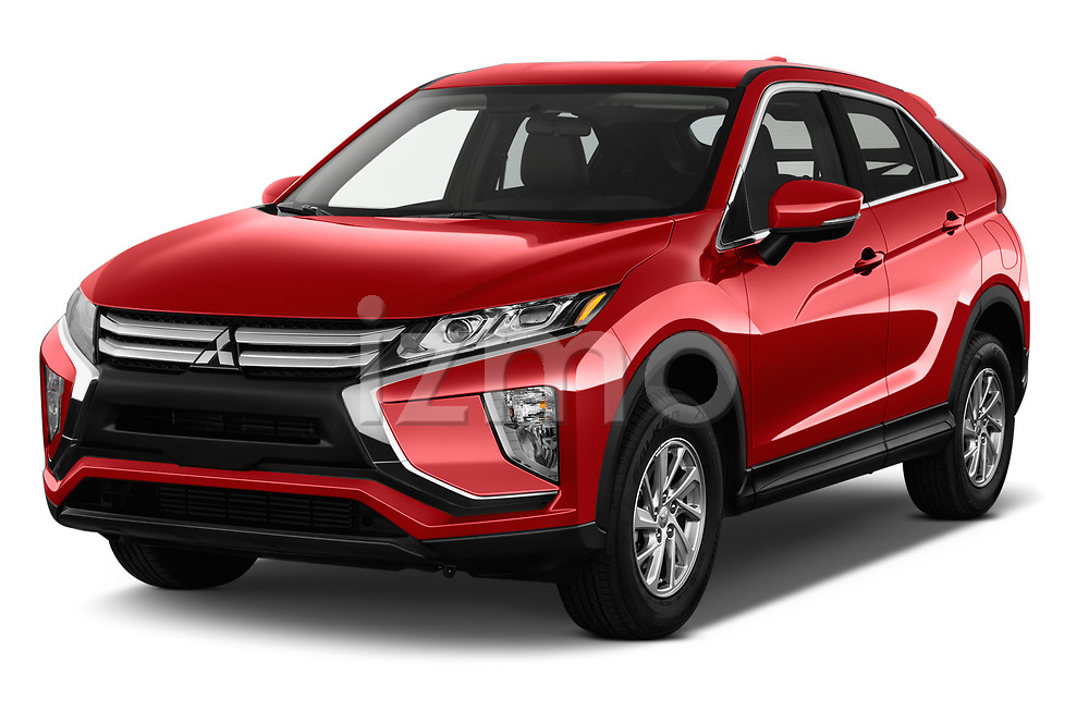 2018 Mitsubishi Eclipse Cross ES 5 Door SUV angular front stock photos of front three quarter view