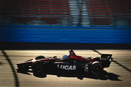 2018 Verizon IndyCar Series Phoenix testing<br /> Phoenix Raceway, Avondale, Arizona, USA<br /> Thursday 8 February 2018<br /> Robert Wickens, Schmidt Peterson Motorsports Honda<br /> World Copyright: Scott R LePage/LAT Images<br /> ref: Digital Image _SRL2871