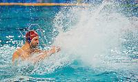 1 Stefano TEMPESTI (GK-red cap) ITA cheers for olympic qualification<br /> FINA Men's Water Polo Olympic Games Qualifications Tournament 2016<br /> quarter final<br /> Romania ROU (White) Vs Italy ITA (Blue)<br /> Trieste, Italy - Swimming Pool Bruno Bianchi<br /> Day 06  08-04-2016<br /> Photo G.Scala/Insidefoto/Deepbluemedia