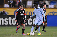 Sporting Kansas City forward Kei Kamara (23)  Sporting Kansas City defeated D.C. United  1-0 at RFK Stadium, Saturday March 10, 2012.