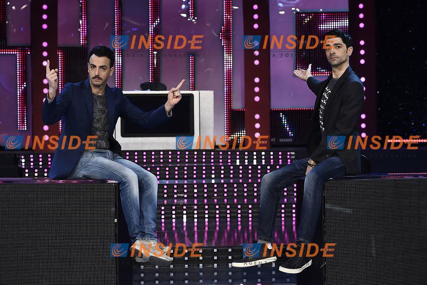 Milano 28-03-2017 - photocall trasmissione Tv 'Furore' foto Daniele Buffa/Image/Insidefoto<br /> nella foto: Luigi Esposito-Rosario Morra