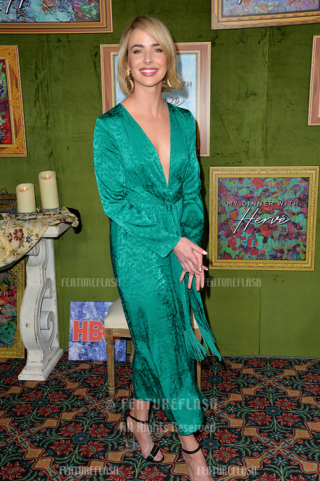 LOS ANGELES, CA. October 04, 2018: Ashleigh Brewer at the Los Angeles premiere for &quot;My Dinner With Herve&quot; at Paramount Studios.<br /> Picture: Paul Smith/Featureflash