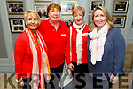 Volunteers at the Rose Hotel Wellness Event on Saturday<br /> L to r: Audrey Moran (Tralee), Sheila Teahan (Cromane), Catherine Dolan (Tralee) and Catherine Riordan (Kilorglin).
