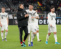 Niklas Süle (Deutschland Germany) mit Torwart Manuel Neuer (Deutschland Germany) - 09.10.2019: Deutschland vs. Argentinien, Signal Iduna Park, Freunschaftsspiel<br /> DISCLAIMER: DFB regulations prohibit any use of photographs as image sequences and/or quasi-video.