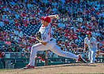 7 August 2016: Washington Nationals pitcher Mark Melancon on the mound to close out the game against the San Francisco Giants at Nationals Park in Washington, DC. The Nationals shut out the Giants 1-0 to take the rubber match of their 3-game series. Mandatory Credit: Ed Wolfstein Photo *** RAW (NEF) Image File Available ***