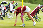New Mexico State University competes in the 2019 NCAA Women's Golf Regional at Tumble Creek Club in Cle Elum, Washington on May 8, 2019. (Photography by Scott Eklund/Red Box Pictures)