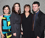 Mandy Greenfield, Julia Jordan, Juliana Nash and Trip Cullman attending the Opening Night Performance After Party for the Manhattan Theatre Club's 'Murder Ballad' at Suite 55 in New York City on 11/15/2012