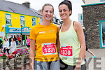 Doireann and Caitriona Hennessy at the Dingle Marathon on Saturday.