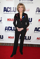 BEVERLY HILLS, CA - DECEMBER 3: Jane Fonda, at ACLU SoCal's Annual Bill Of Rights Dinner at the Beverly Wilshire Four Seasons Hotel in Beverly Hills, California on December 3, 2017. Credit: Faye Sadou/MediaPunch /NortePhoto.com NORTEPHOTOMEXICO