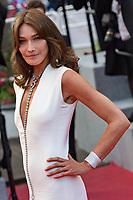 Carla Bruni<br /> 13-05-2018 Cannes <br /> 71ma edizione Festival del Cinema <br /> Foto Panoramic/Insidefoto