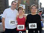 Barry McGrane, Grace Barrett and June Collins who took part in the Saint Vincent de Paul sponsored 5Km run. Photo: Colin Bell/pressphotos.ie