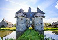 France, Orne , Normandie Maine Regional Natural Park, La Haute Chapelle, la Saucerie Manor