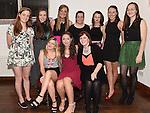 Dearbhail Ní Oistín celebrating her 21st birthday in McHugh's with all her friends. Photo:Colin Bell/pressphotos.ie
