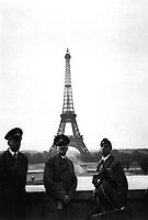 Der Fuhrer in Paris.  Hitler in Paris.  June 23, 1940.  Heinrich Hoffman Collection.  (Foreign Records Seized)<br /> NARA FILE #:  242-HLB-5073-20<br /> WAR & CONFLICT BOOK #:  998