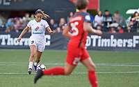 Portland, OR - Wednesday June 28, 2017: Lo'eau Labonta during a regular season National Women's Soccer League (NWSL) match between the Portland Thorns FC and FC Kansas City at Providence Park.