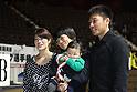 (L to R) Makiko Sakamoto, Hitomi Obara, Koji Obara, DECEMBER 22, 2011 - Wrestling : All Japan Wrestling Championship Women's Free Style -48kg Final at 2nd Yoyogi Gymnasium, Tokyo, Japan. (Photo by YUTAKA/AFLO SPORT) [1040]