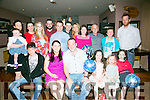 Michael O'Keeffe, Killarney, celebrates his 30th Birthday with family and friends at O Riada's Bar on Saturday
