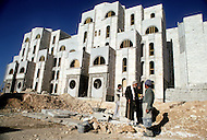 Jerusalem, Israel, November, 1980. Development in progress in Gilo area.