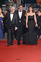 "Sarah Gadon, David Cronenberg, Robert Pattinson and Juliette Binoche  attending the ""Cosmopolis"" Premiere during the 65th annual International Cannes Film Festival in Cannes, France, 25.05.2012...Credit: Timm/face to face /MediaPunch Inc. ***FOR USA ONLY***"