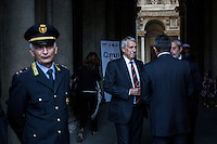 Milano 24-09-2013: Giuliano Pisapia sindaco di Milano                                   Milan 24-09-2013: Giuliano Pisapia Major of Milan