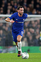 Danny Drinkwater of Chelsea in action during Chelsea vs Arsenal, Caraboa Cup Football at Stamford Bridge on 10th January 2018