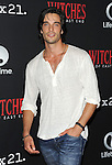 Daniel di Tomasso arriving at the Witches of East End Comic-Con Party 2014 held at The Tipsy Crow in San Diego, Ca. July 24, 2014.