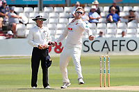 Simon Harmer in bowling action for Essex during Essex CCC vs Warwickshire CCC, Specsavers County Championship Division 1 Cricket at The Cloudfm County Ground on 16th July 2019