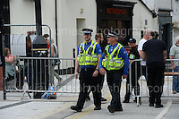 PCSO's at the event during the Merthyr Rising Festival 2016 in Merthyr Tydfil on Saturday June 4th and Sunday June 5th 2016. <br /> <br /> <br /> Jeff Thomas Photography -  www.jaypics.photoshelter.com - <br /> e-mail swansea1001@hotmail.co.uk -<br /> Mob: 07837 386244 -