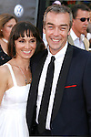 "Actor John Hannah and guest arrive at the American Premiere of ""The Mummy: Tomb Of The Dragon Emperor at the Gibson Amphitheatre on July 27, 2008 in Universal City, California."