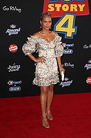 "11 June 2019 - Hollywood, California - Christina Milian. Premiere Of Disney And Pixar's ""Toy Story 4""  held at El Capitan theatre. Photo Credit: Faye Sadou/AdMedia"