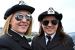 Members of the Drogheda Unit of the Irish Coast Guard getting ready for the St Patricks Day Parade..Picture Fran Caffrey www.newsfile.ie