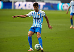 Adrian Gonzalez (Malaga CF) seen in action during La Liga Smartbank match round 39 between Malaga CF and RC Deportivo de la Coruna at La Rosaleda Stadium in Malaga, Spain, as the season resumed following a three-month absence due to the novel coronavirus COVID-19 pandemic. Jul 03, 2020. (ALTERPHOTOS/Manu R.B.)