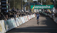 victory for Sanne Cant (BEL/Enertherm-Beobank)<br /> <br /> CX Superprestige Zonhoven 2016