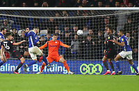 31st January 2020; Cardiff City Stadium, Cardiff, Glamorgan, Wales; English Championship Football, Cardiff City versus Reading; Callum Paterson of Cardiff City scores Cardiff Citys equalizer making it 1-1 in the 70th minute