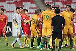 China PR vs Australia during the 2016 AFC U-19 Championship Group D match at Bahrain National Stadium on 15 October 2016, in Manama, Bahrain. Photo by Jaffar Hasan / Lagardere Sports
