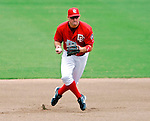 5 August 2007: Washington Nationals third baseman Ryan Zimmerman in action against the St. Louis Cardinals at RFK Stadium in Washington, DC. The Nationals defeated the Cardinals 6-3 to sweep their 3-game series...Mandatory Photo Credit: Ed Wolfstein Photo